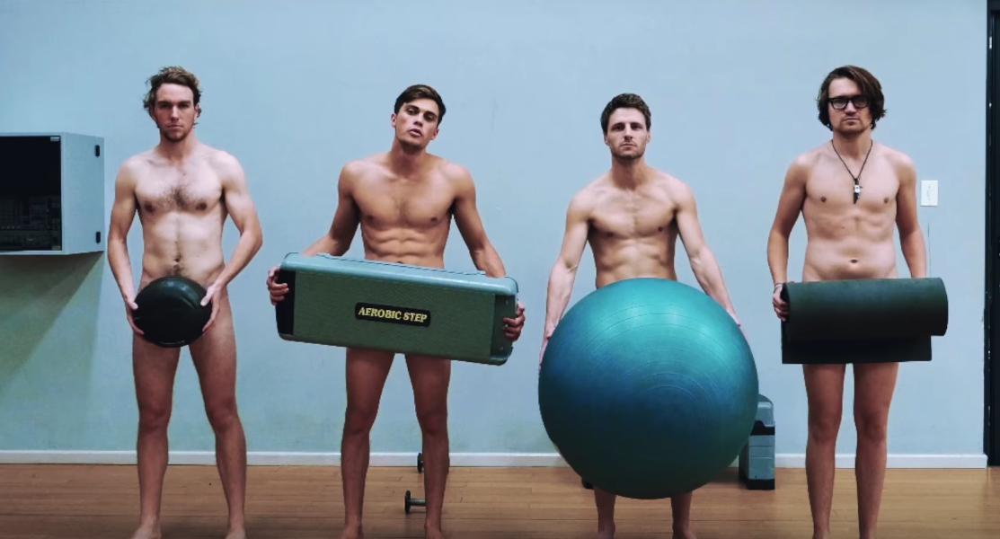 Fun - In diesem Gym sind Klamotten strengstens verboten