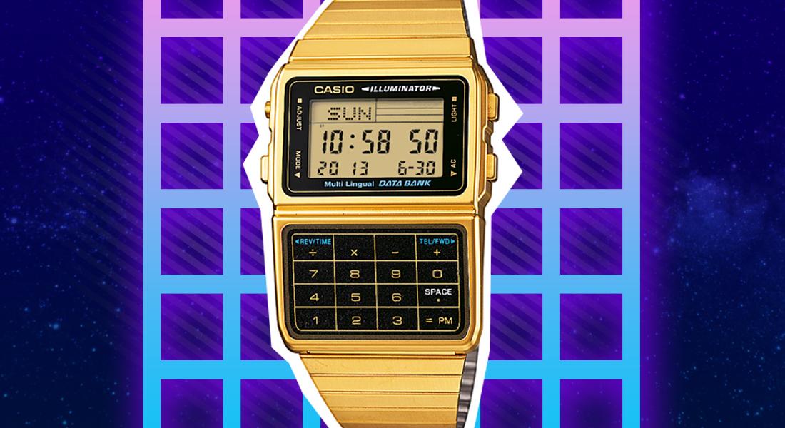 Casio 80s Style Uhren