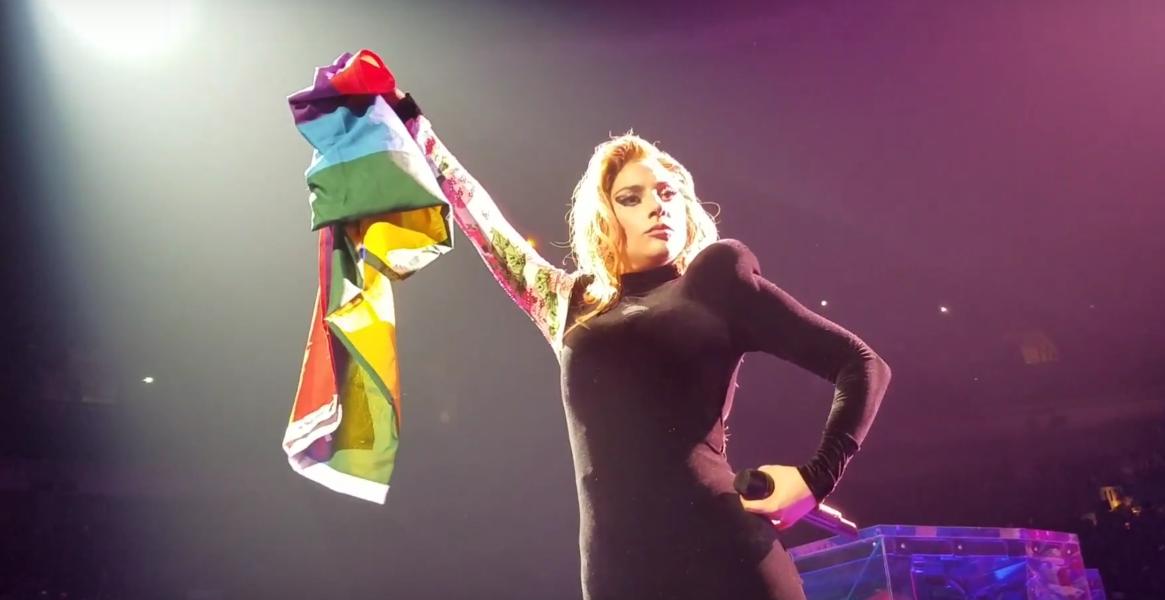 Lady Gaga - Rainbow Flag
