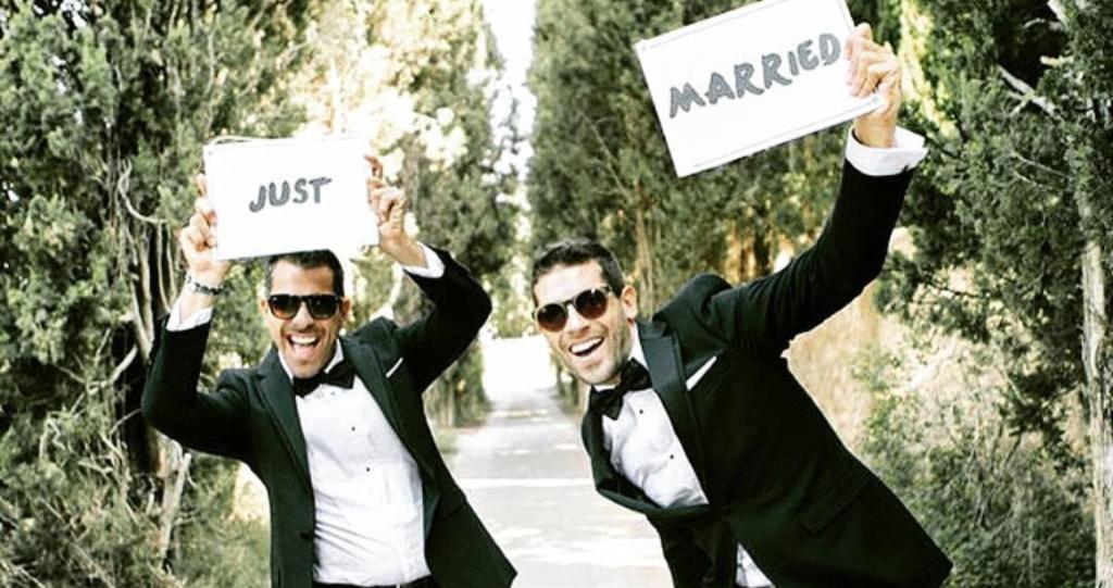 Just Married Ehe für alle