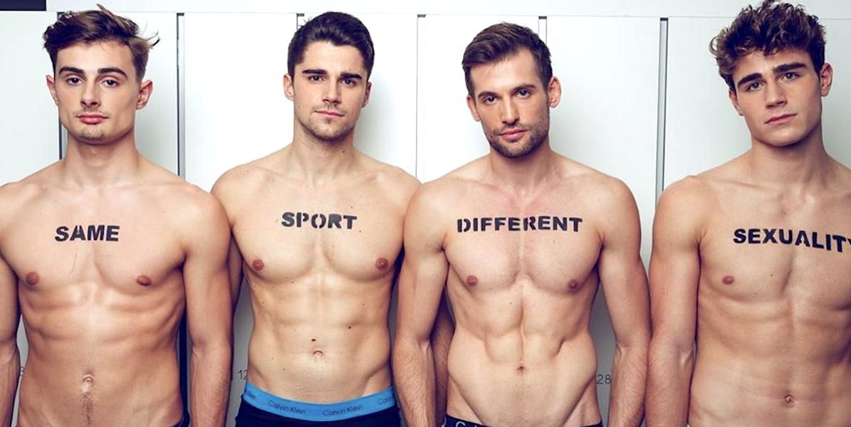 Belgische Ruderer ziehen sich aus, um queere Athleten zu supporten!