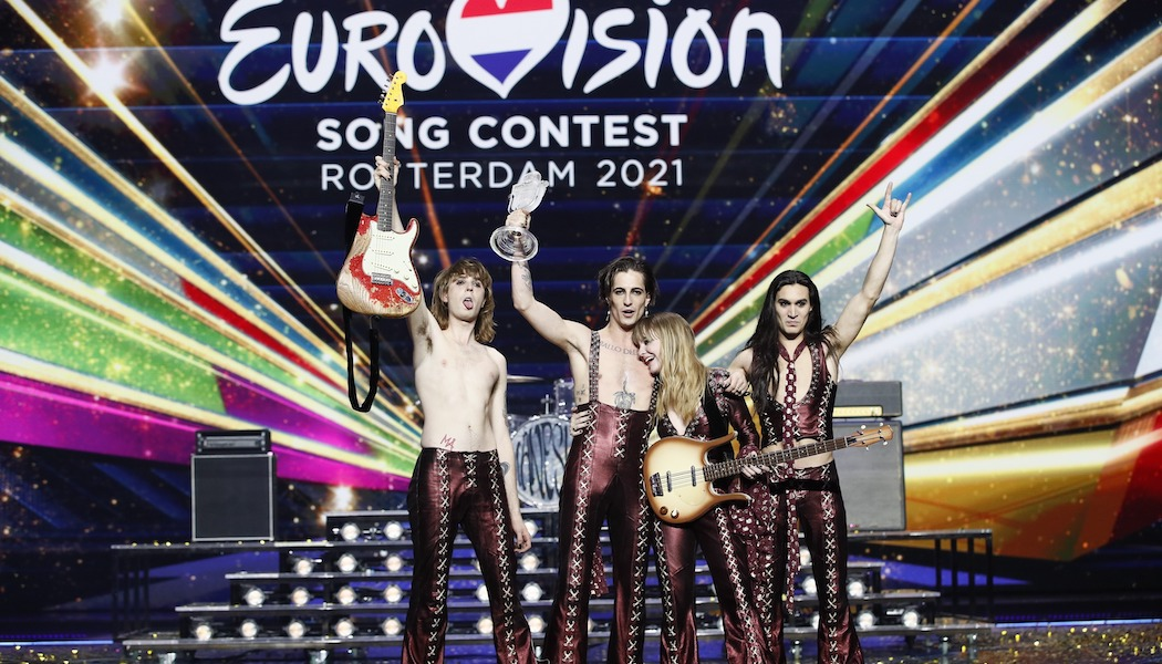 Måneskin from Italy has won the Eurovision Song Contest 2021 EBU / ANDRES PUTTING
