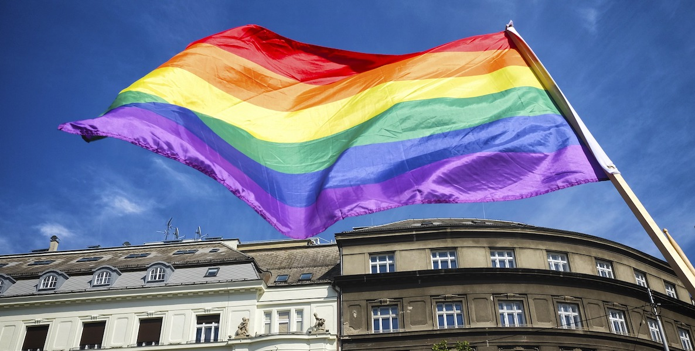 Regenbogen Pride Flag CSD