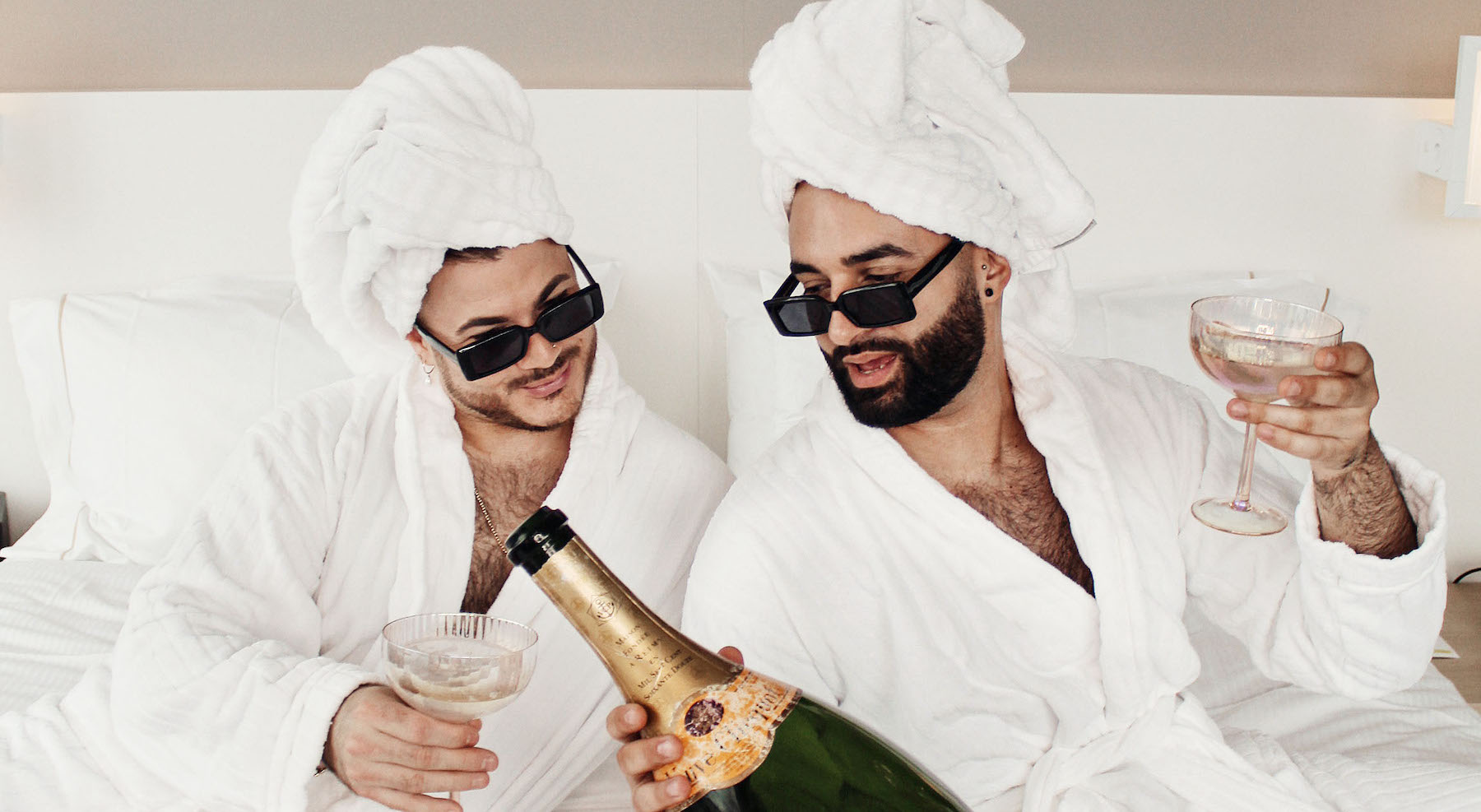 Champagner auf EX Podcast