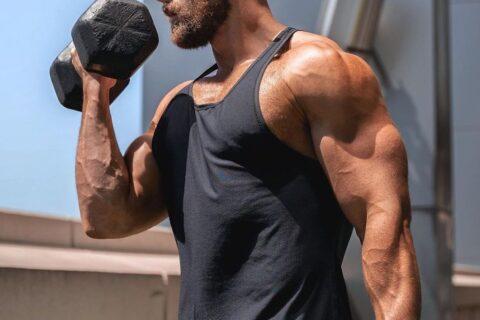 Body Transformation - Sport - Muskeln