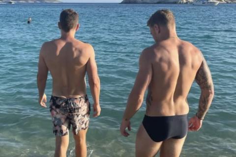 Gus Kenworthy Greece Holiday New Boyfriend?
